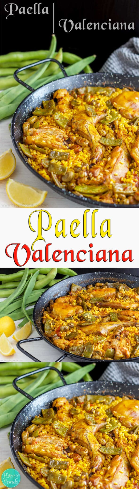 Homemade paella valenciana recipe video happy foods tube traditional paella valenciana recipe paella is a great spanish rice dish to share with family forumfinder Image collections