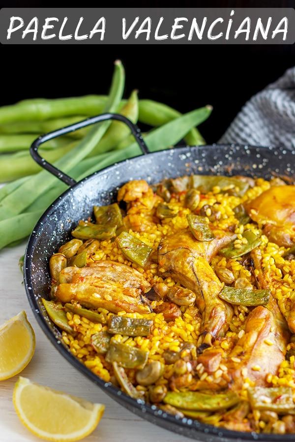 Easy Paella Valenciana Recipe
