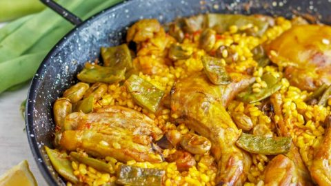 Easy Paella Valenciana Recipe Traditional Spanish Food
