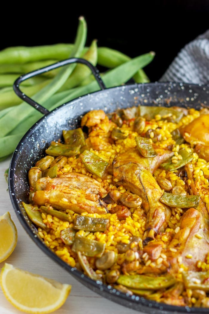 Easy Traditional Paella Valenciana