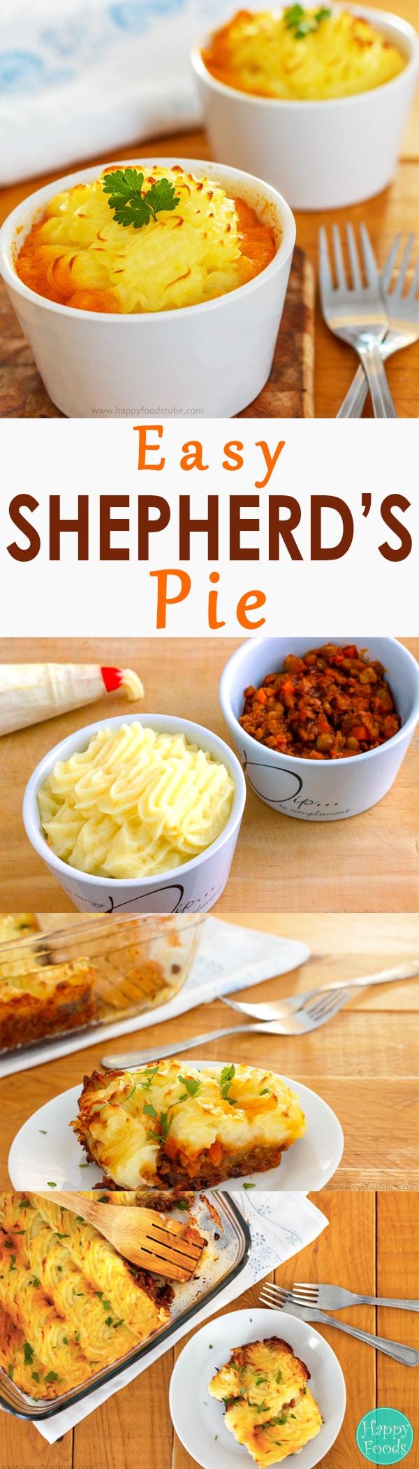 Easy Shepherd's Pie Recipe - Real comfort food, family favorite ...