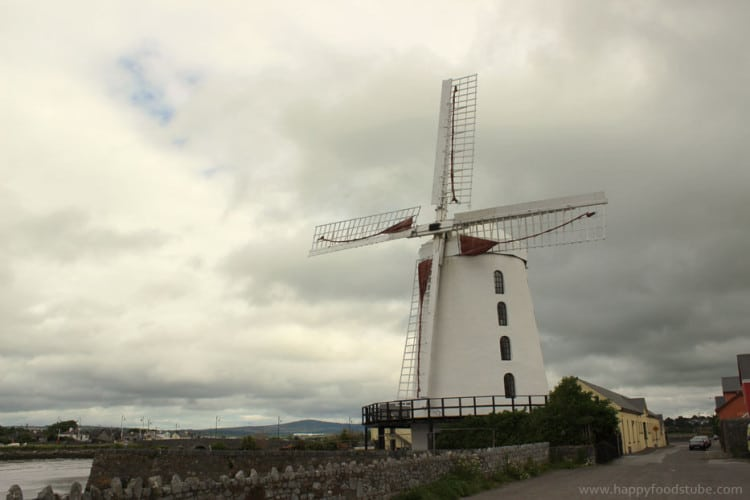 Irish brown soda bread - Blennerville Windmill Picture