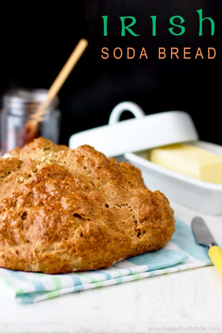 Irish Brown Soda Bread Recipe — Dishmaps
