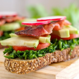 Parsley Sandwich Toast Delight