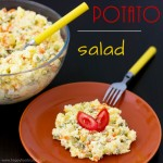 Creamy Potato and Ham Salad