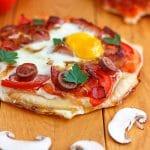 Easy Breakfast Pizza Recipe