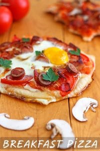 Easy Breakfast Pizza Recipe