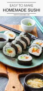 Easy to Make Homemade Sushi Recipe