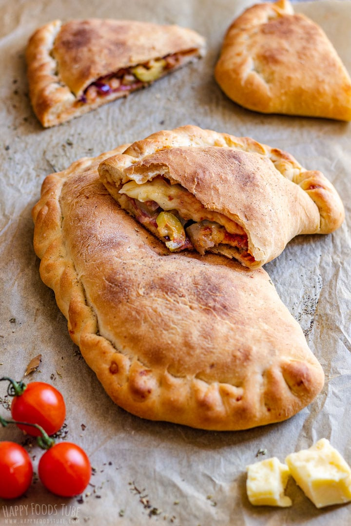 Homemade Calzone Pizza