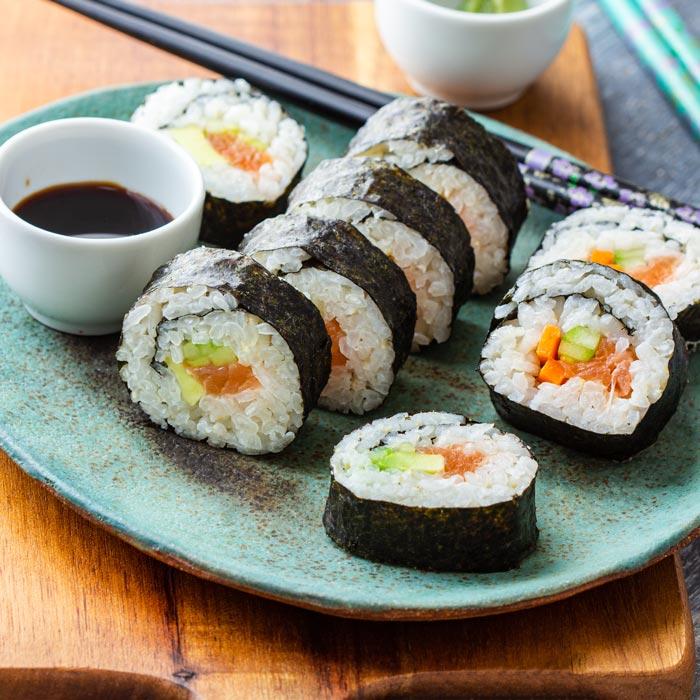 Homemade Sushi Recipe - How to Make Sushi at Home