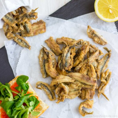 Deep Fried Anchovies