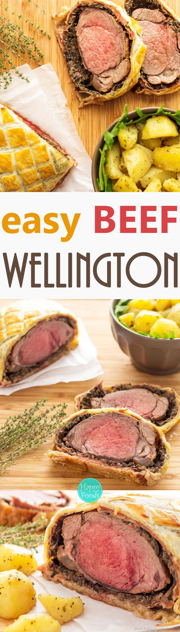 Easy Beef Wellington recipe what everyone can cook at home. If you are looking for a fancy dinner idea, look no further!