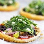 Mini Vegetarian Puff Pastry Pizzas {Video}