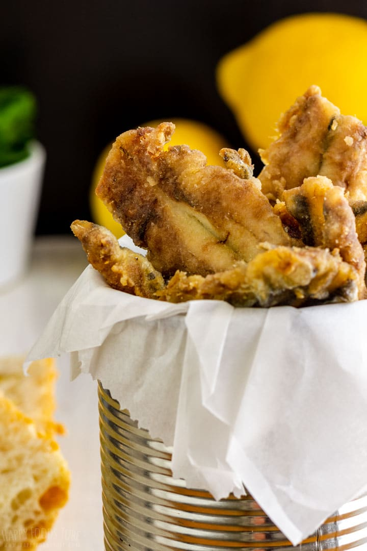 Fried anchovy