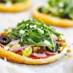 Vegetarian Puff Pastry Pizza Recipe