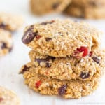 Flourless Chocolate Oatmeal Cookies