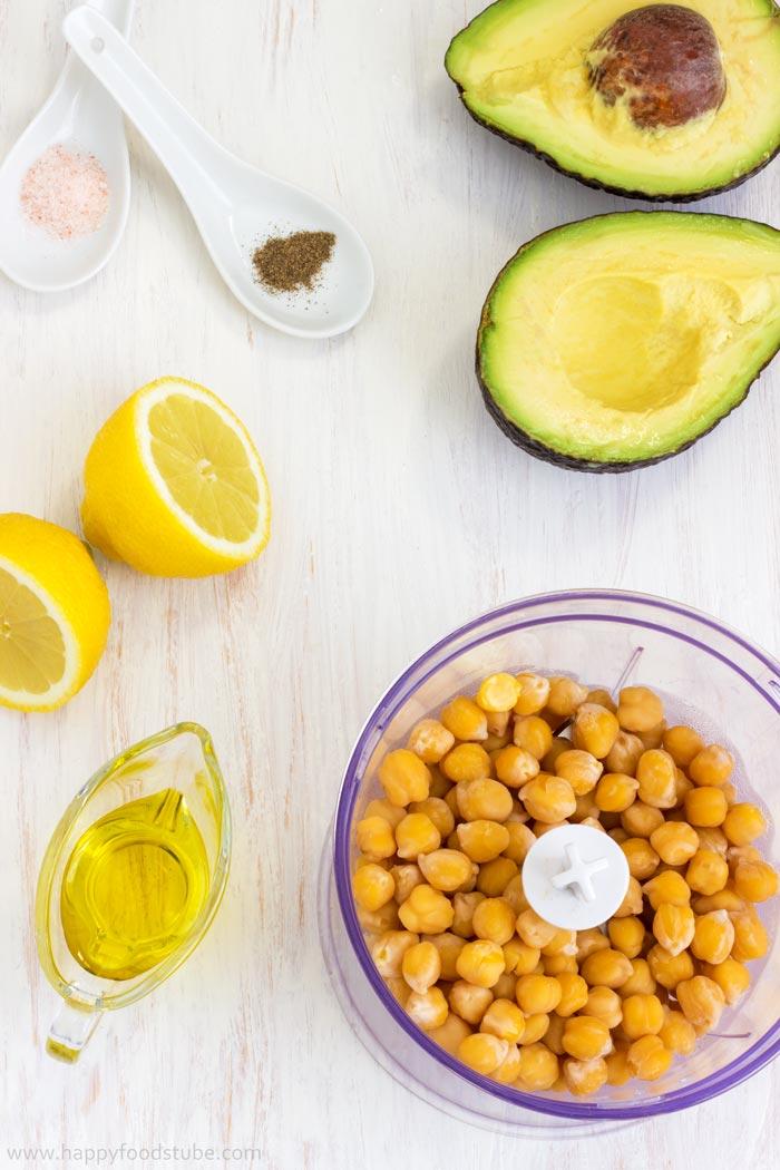 Super-Healthy-Creamy-Avocado-Hummus-Ingredients