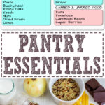 My Pantry Essentials - Those ingredients that help us create delicious dishes whether they are cooked, baked or just thrown together in a matter of seconds. Did you know that a well-stocked pantry is the key to efficient cooking? | happyfoodstube.com