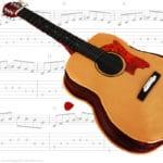 Acoustic Guitar Fondant Cake (Video Tutorial)