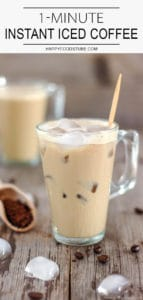 1-Minute Instant Iced Coffee Recipe