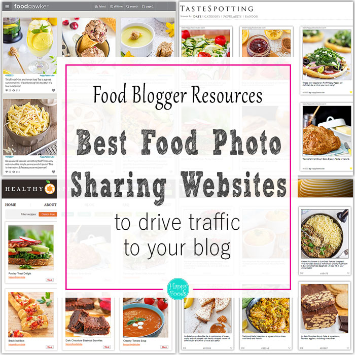 Best food photo sharing websites for food bloggers happy foods tube forumfinder Images