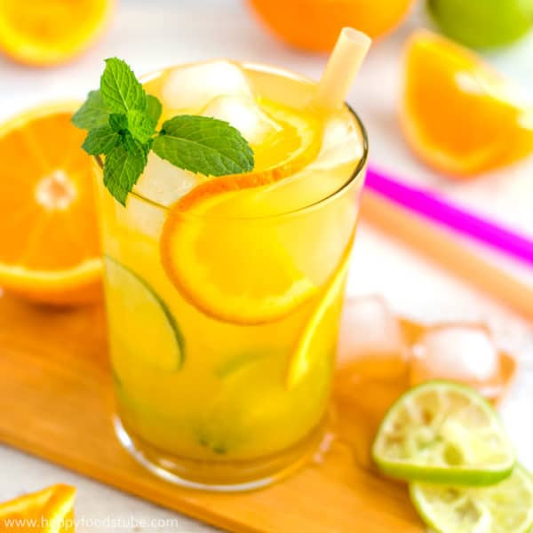 Quick Cuban Orange Mojito