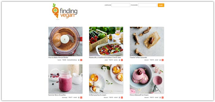 Best Food Photo Recipe Sharing Websites - Food Blogger Resources - Finding Vegan | happyfoodstube.com