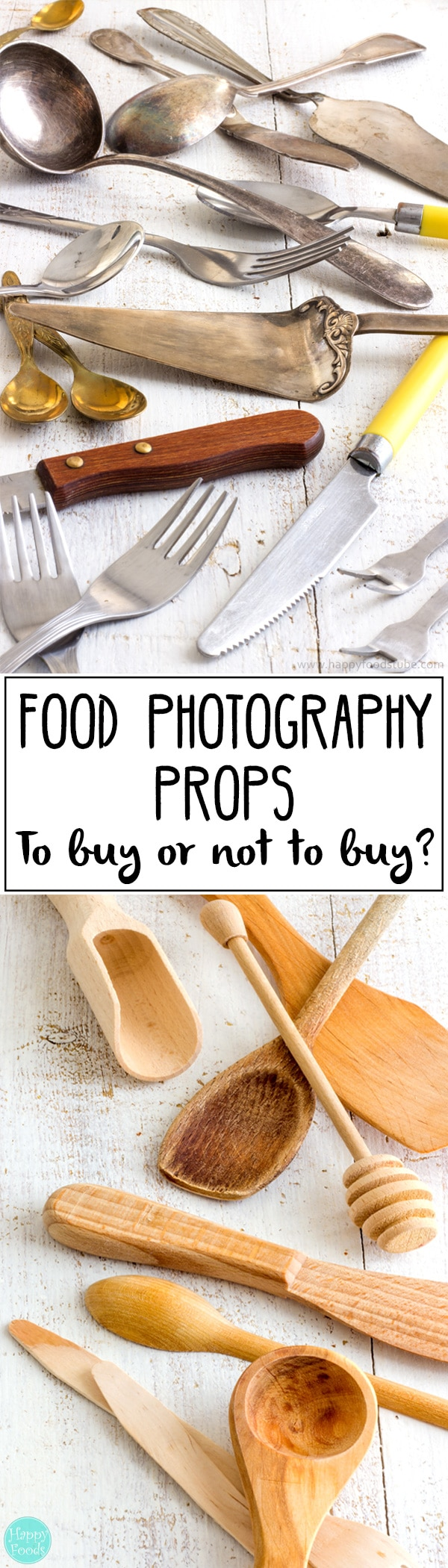 Ultimate guide to Food Photography Props with tips, tricks & money saving ideas! Best everyday affordable food photo props! | happyfoodstube.com