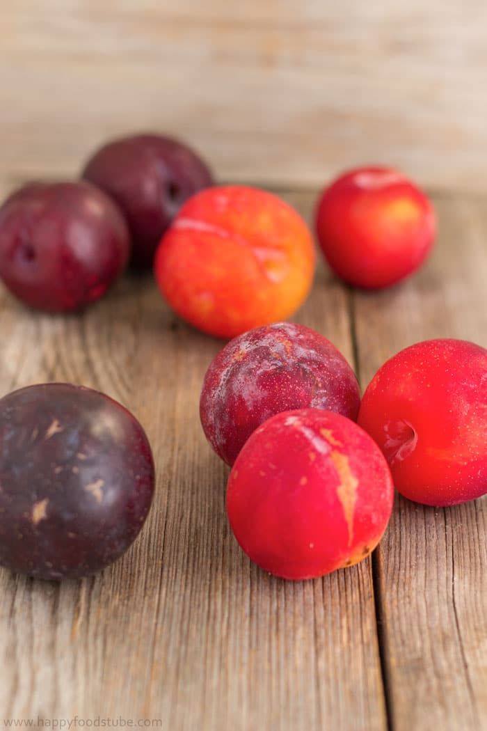Fresh Plums for Homemade Jam | happyfoodstube.com