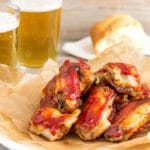 Sweet and Spicy Sticky Chicken Wings