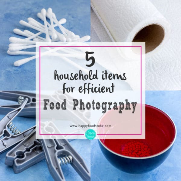 5 Household Items for Efficient Food Photography
