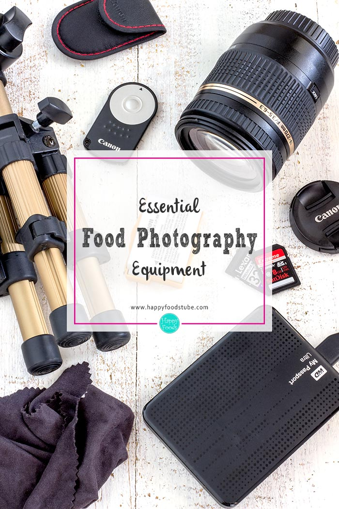 Essential Food Photography Equipment. 10 must-haves for every food blogger | happyfoodstube.com