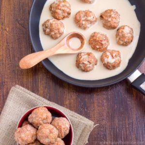 Oven Baked Swedish Meatballs