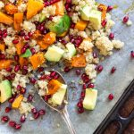 Roasted Butternut Squash Salad with Quinoa