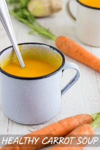 Healthy Carrot Soup Recipe