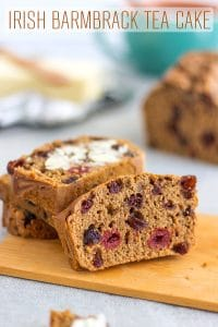 Irish Barmbrack Tea Cake Recipe