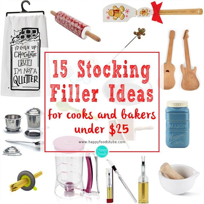 15 Christmas Stocking Filler Ideas | happyfoodstube.com