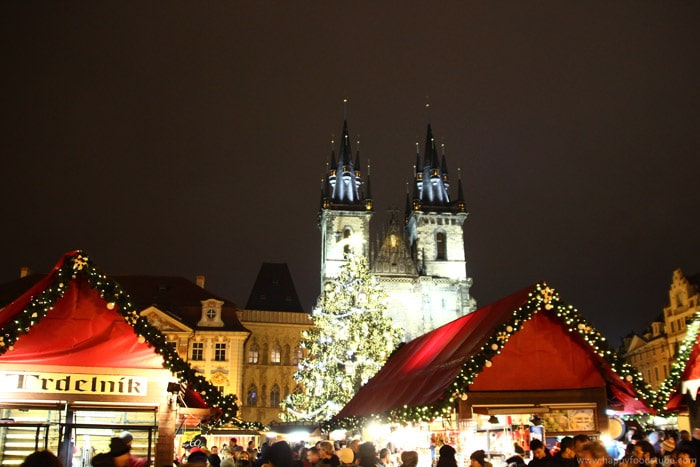 Prague, Czech - Best Christmas markets in Europe | happyfoodstube.com