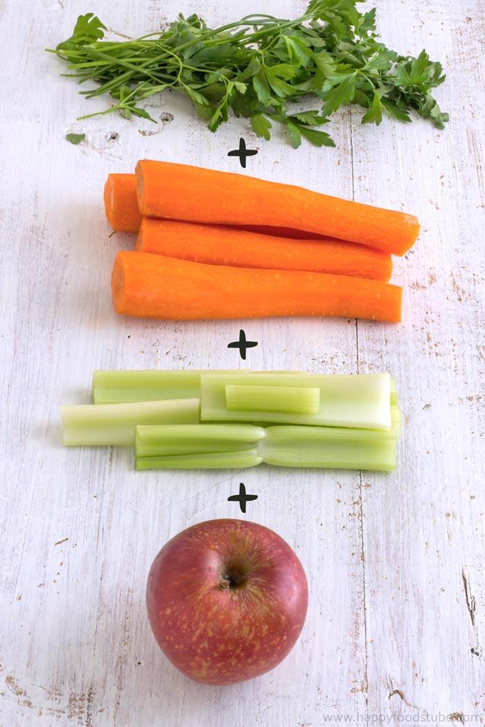 Winter Vitamin Boosting Juice Ingredients | happyfoodstube.com