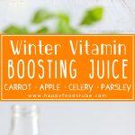 Winter Vitamin Boosting Juice Healthy Recipe