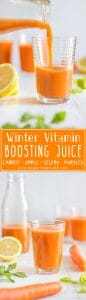 Winter Vitamin Boosting Juice Healthy Recipe