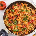 Best Spicy Shrimp Spaghetti Recipe
