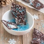 Christmas Chocolate Bark with Coconut (Video)