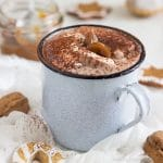 Creamy Dulce de Leche Hot Chocolate