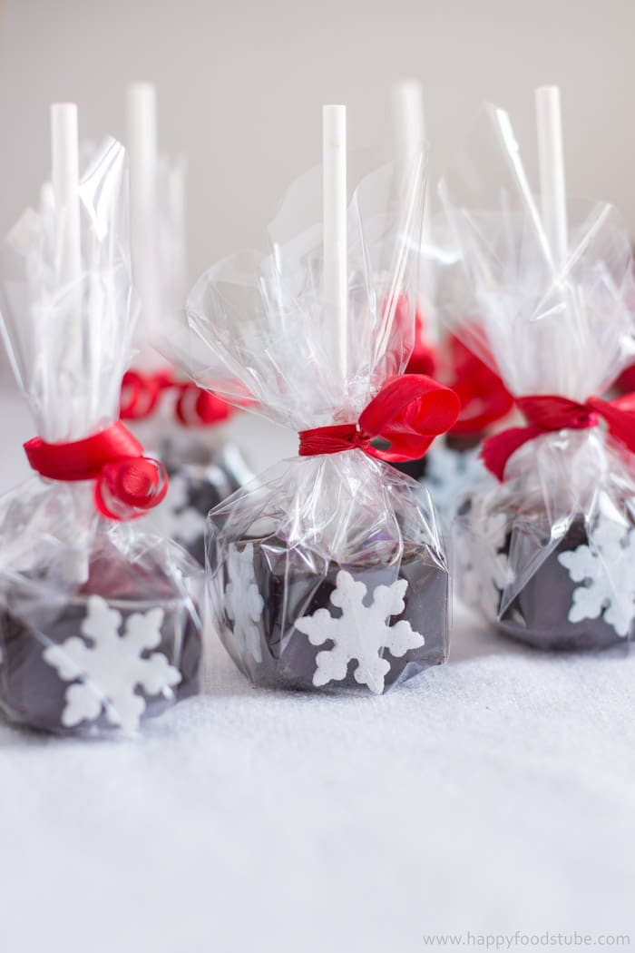 homemade edible christmas gifts hot chocolate sticks happyfoodstubecom