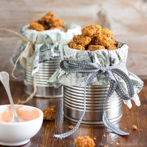 Crispy Homemade Popcorn Chicken