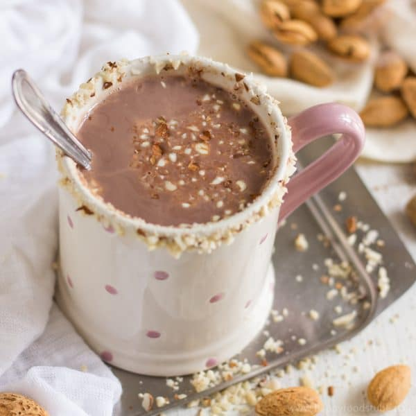 Healthy Almond Milk Hot Cocoa