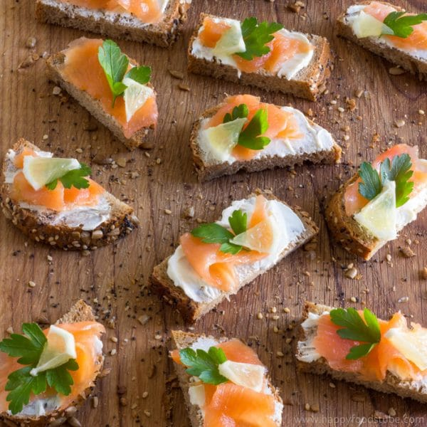 Easy Smoked Salmon Bites