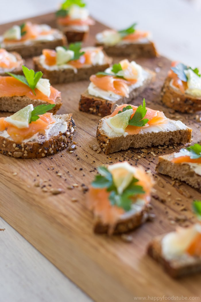 Easy smoked salmon hors d 39 oeuvres for Hor d oeuvres recipes