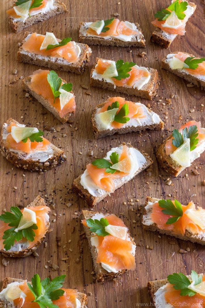 Easy Smoked Salmon Bites Happy Foods Tube